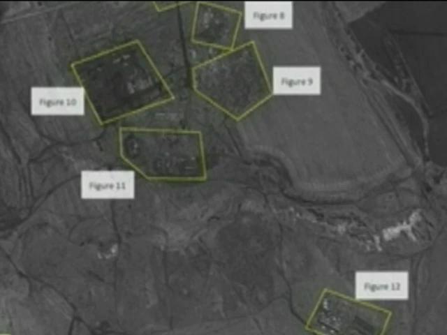 НАТО показало снимки российских войск около границы (видео)