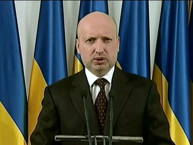 Турчинов анонсировал военную операцию на востоке Украины (видео)