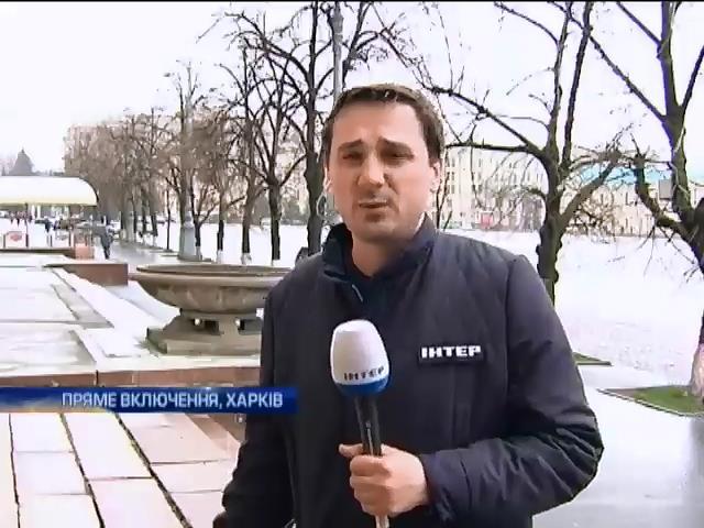 Ночь в Харькове прошла без инцидентов (видео)