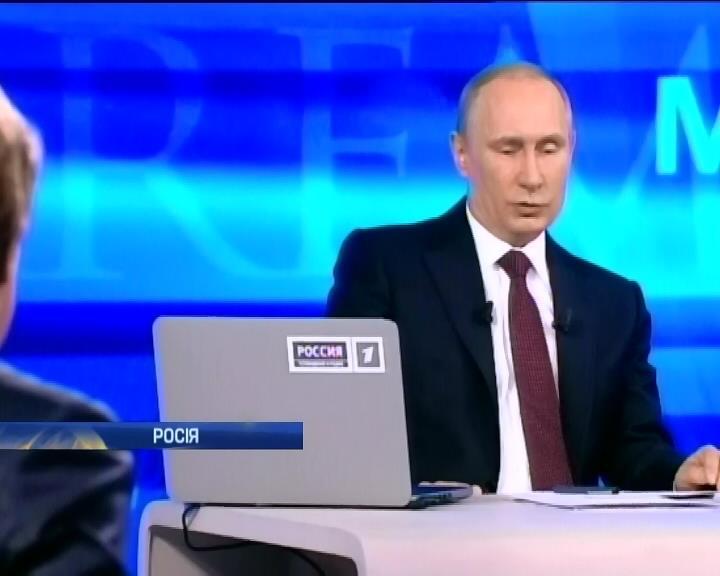 Путин признал присутствие российских войск во время оккупации Крыма (видео)