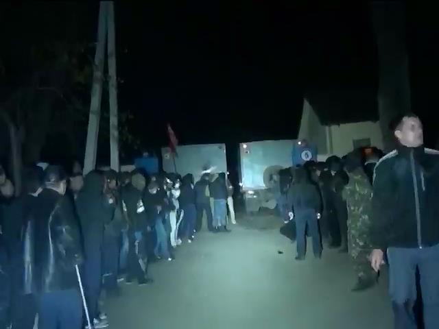 Милиция задержала более полусотни участников штурма части в Мариуполе (видео)