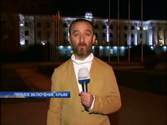 Лидеры крымских татар отказались комментировать выступление Путина (видео)