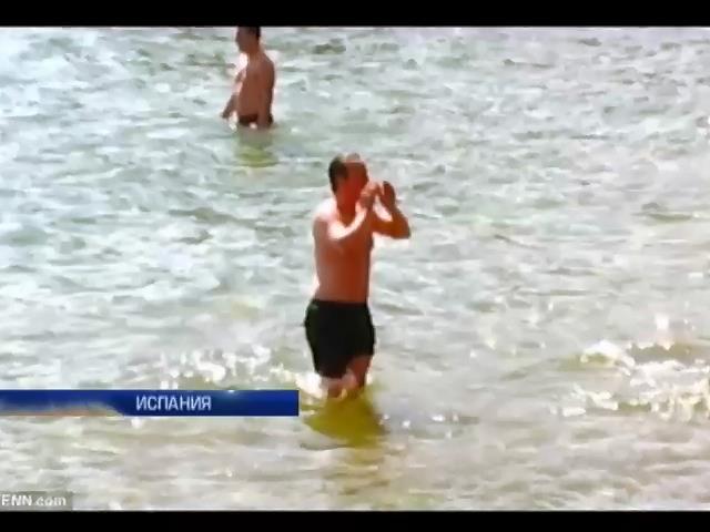В отпуске на Канарах Дэвида Кэмерона изжалили медузы (видео)