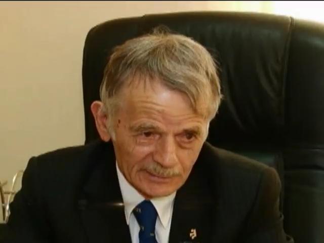 Джемилев заявил о цензуре на крымском телевидении (видео)