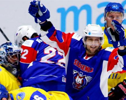 Украина снова проигрывает на чемпионате мира по хоккею