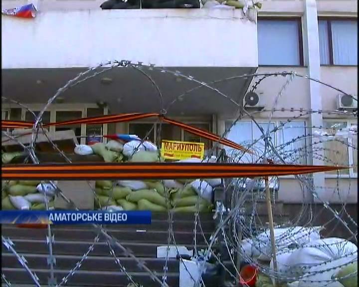 """Аваков подтвердил причастность """"активистов"""" к освобождению мариупольской мэрии (видео)"""