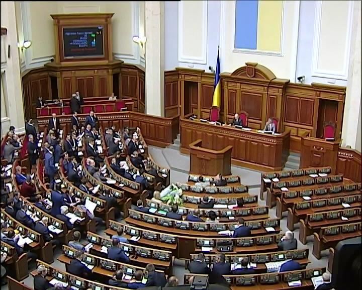 Рада решила отложить принятие законов до вторника (видео)