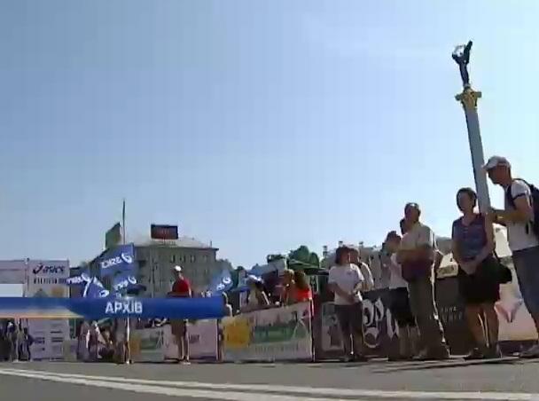 В столице проходит Киевский Международный Марафон (видео)