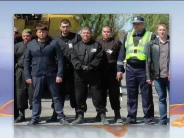 На Херсонщине правоохранители с самообороной установили блокпост (видео)