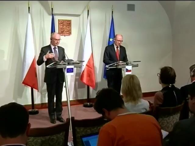 Евросоюз призвал к деэскалации насилия на востоке Украины (видео)