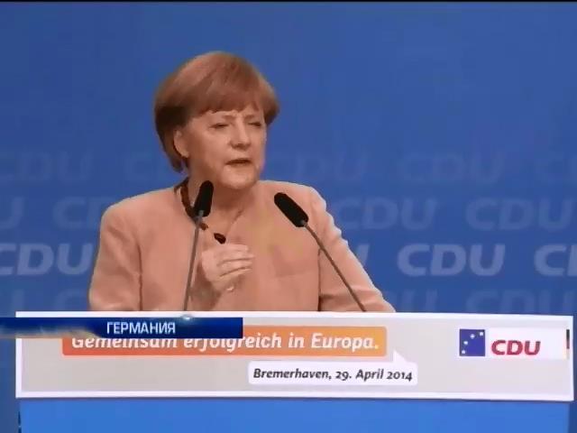 Ангела Меркель грозит России новыми санкциями (видео)