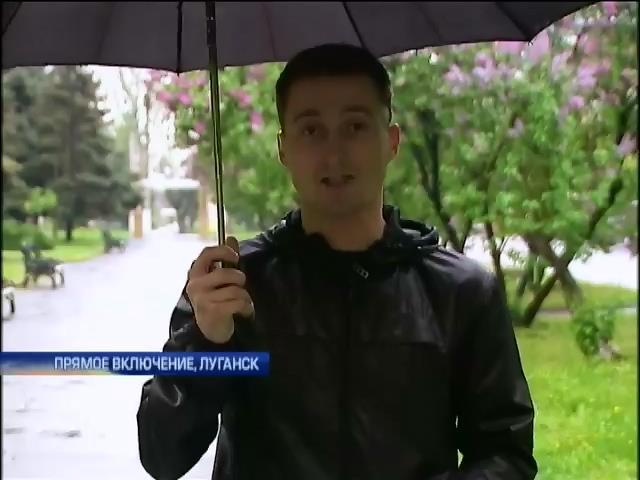 В освобожденном здании СБУ Луганска обнаружили тело мужчины (видео) (видео)