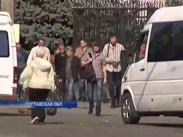 На Кременчугском НПЗ на этой неделе тоже было неспокойно (видео)