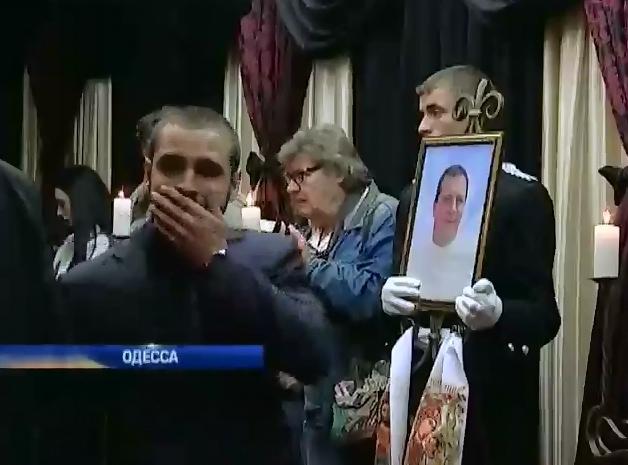 Одесса скорбит по погибшим в Доме профсоюзов (видео) (видео)