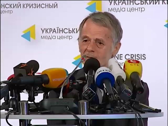 Меджлис крымских татар готов работать в подполье (видео)