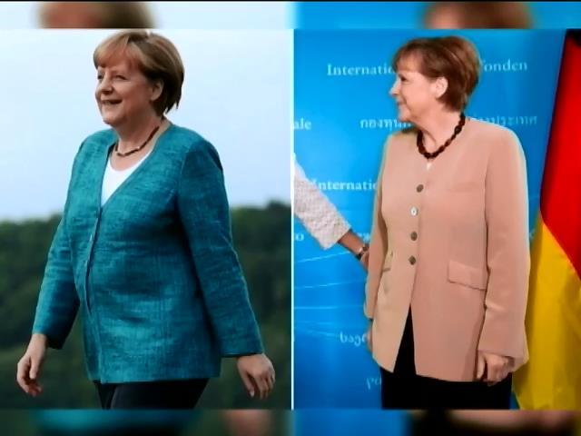Мир в кадре: Меркель похудела на 10 килограмм из-за событий в Украине (видео)