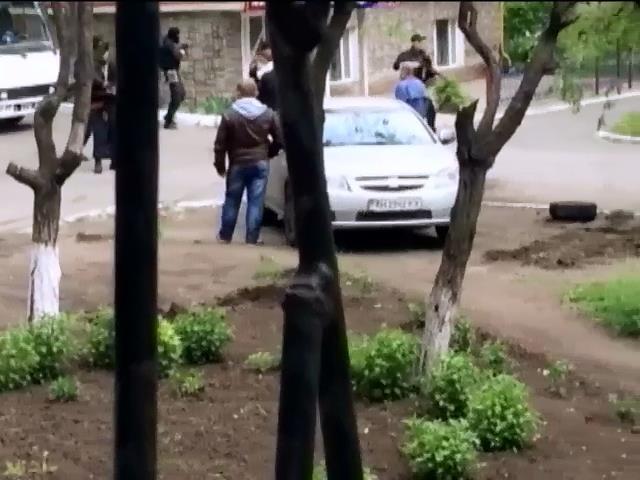 Прокуратура открыла уголовное дело по факту нападения на военную часть в Мариуполе (видео)