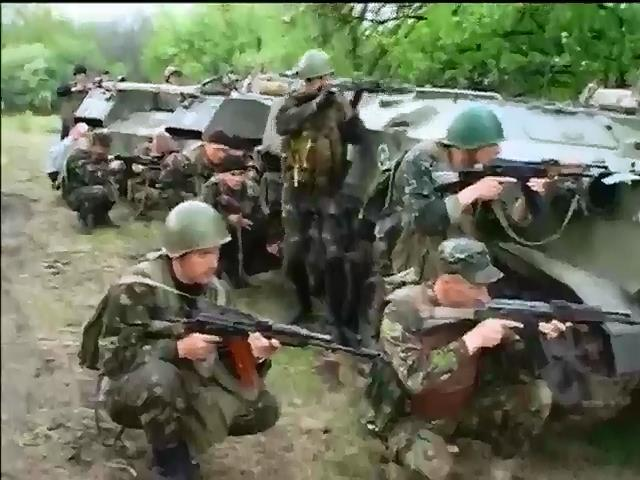 Бой под Краматорском: Убиты несколько украинских десантников (видео)