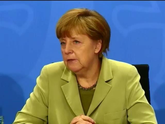 Меркель надеется на национальный диалог в Украине (видео)