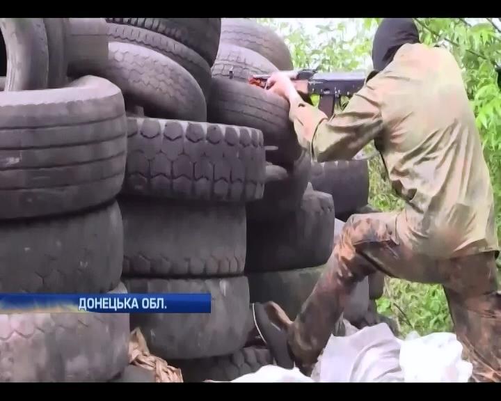 Террористы знали, где будет ехать колонна украинских военных (видео)