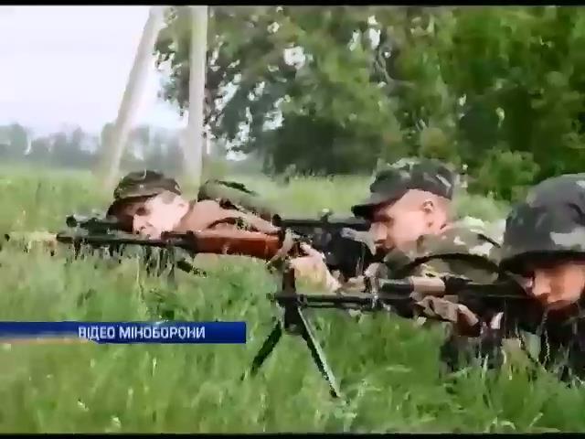 Под Краматорском проходит АТО: Среди украинских солдат есть раненые (видео)