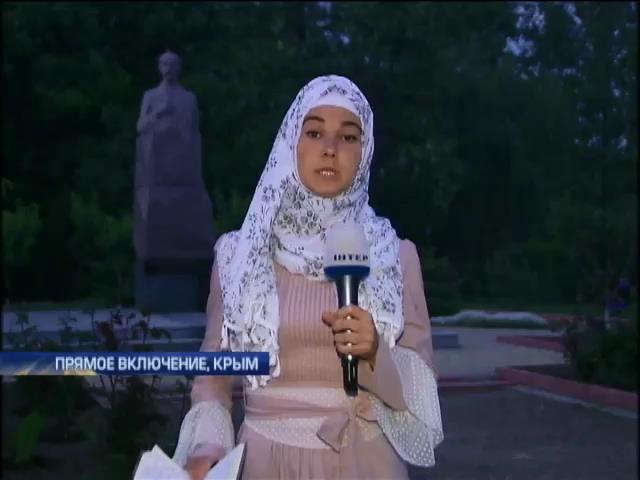 Крымским татарам запрещено в Крыму отмечать 70 годовщину депортации (видео) (видео)