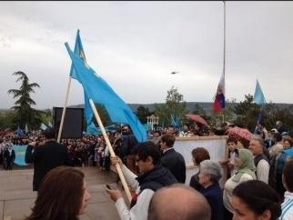 Крымские татары требуют национально-территориальной автономии в Крыму