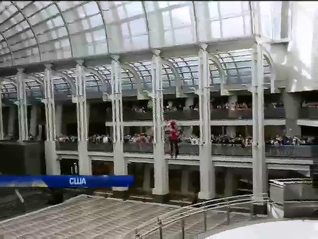 В Вашингтоне устроили полеты на реактивных ранцах (видео)