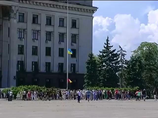 В Одессе разгорелись страсти вокруг выборов городского головы (видео)