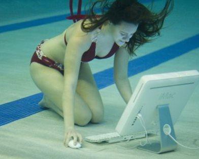 Японцы изобрели подводный световой интернет