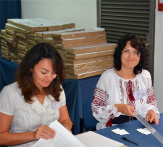 Диаспора голосует иначе: Ляшко и Гриценко опередили Тимошенко