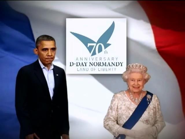 Елизавета II и Барак Обама отказались встречаться с Путиным в Нормандии (видео)