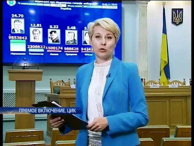 ЦИК ждет протоколов с последнего избирательного участка (видео) (видео)