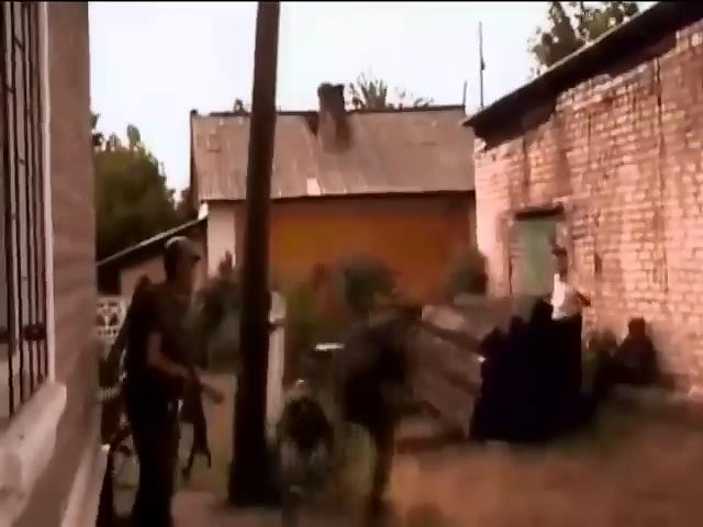 В Луганской области террористы взорвали склад с боеприпасами (видео)