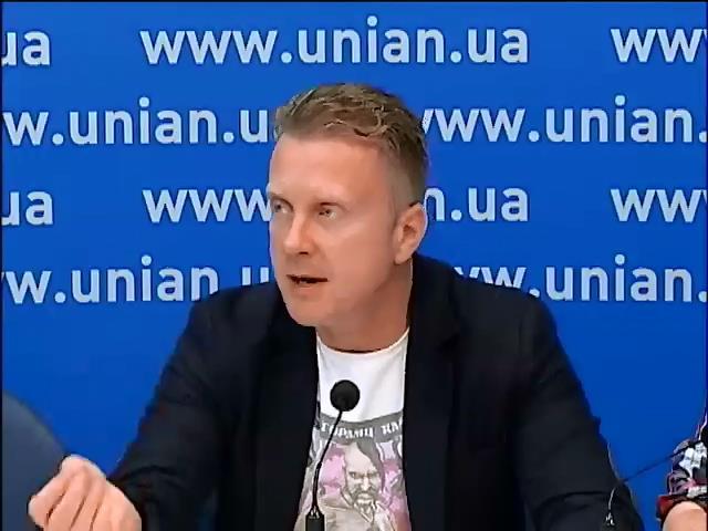 Украинские художники и литераторы ополчились против пропаганды российских СМИ (видео)