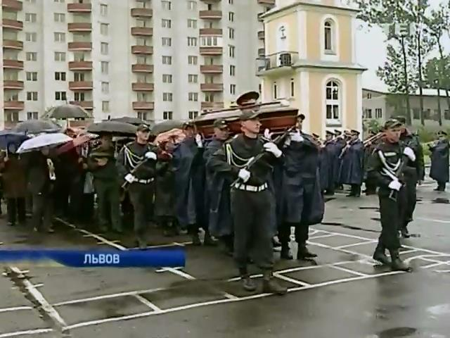 Львов простился с генералом Кульчицким (видео) (видео)