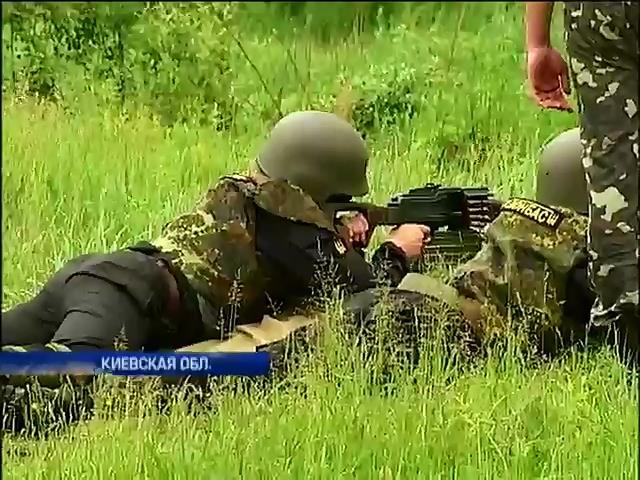 """Батальон """"Донбасс"""" формирует новые отряды и поддерживает партизан (видео) (видео)"""