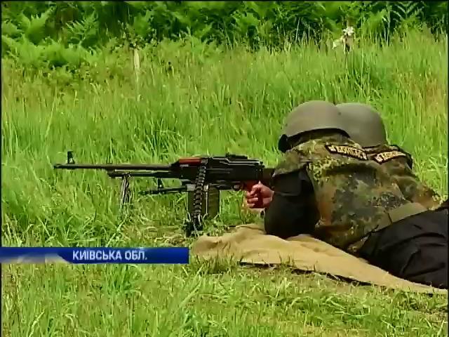 """Батальон """"Донбасс"""" получает оружие и готовится к войне на востоке (видео) (видео)"""