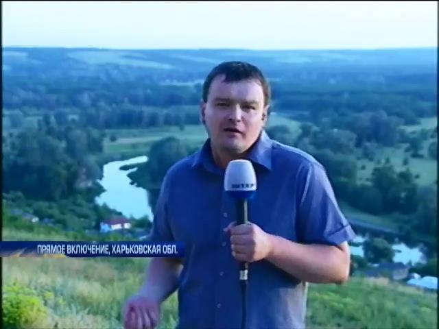 Бои под Славянском: Сбит самолет и обстрелян блокпост с украинскими военными (видео)