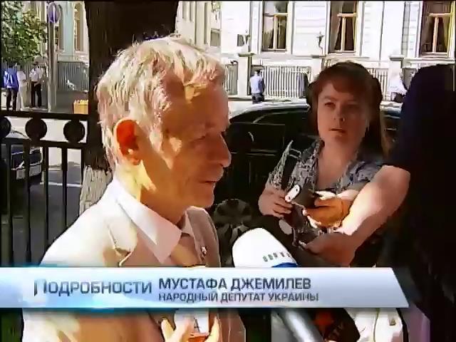 Мустафа Джемилев надеется, что Петр Порошенко вернет Крым Украине (видео)
