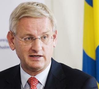 Глава МИДа Швеции предостерегает Путина от давления на Порошенко