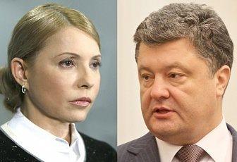 Порошенко потратил 96,4 млн грн на изирательную кампанию, а Тимошенко на треть меньше