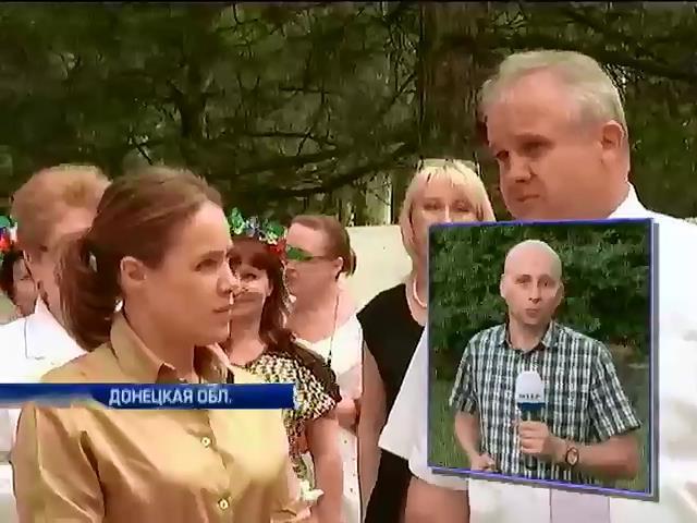 В Красноармейске приняли более 100 больных из Славянска (видео) (видео)