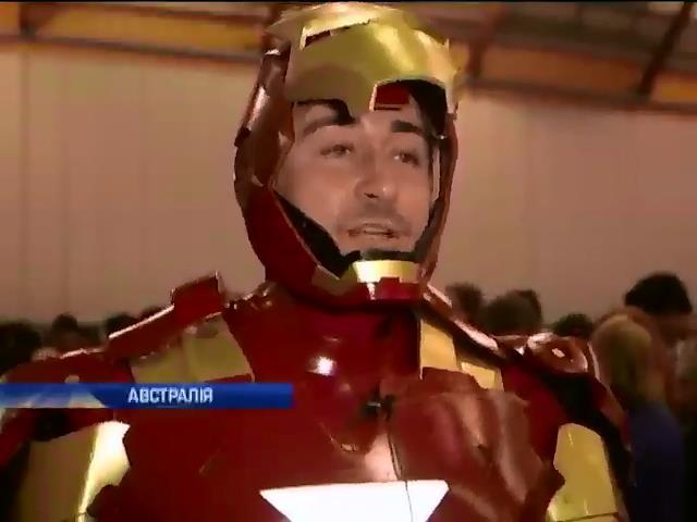 Сiдней на вихiдних став свiтовою столицею Косплею (вiдео) (видео)