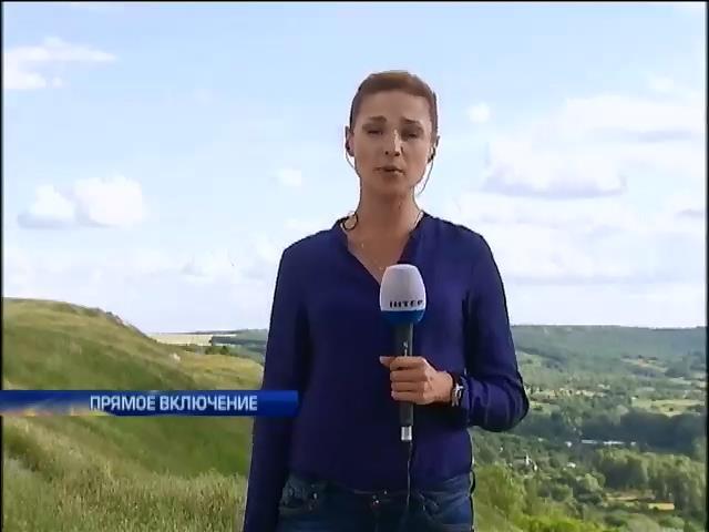 Украинская авиация уничтожила два блокпоста террористов на Луганщине (видео) (видео)