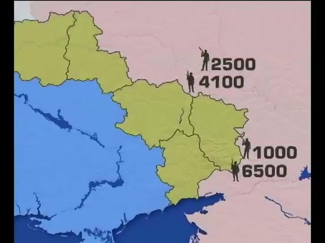 Россия стягивает боевиков к нашей границе (видео) (видео)