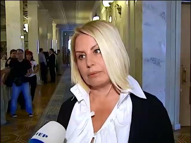 Активисты Майдана прошлись по головам депутатов (видео) (видео)