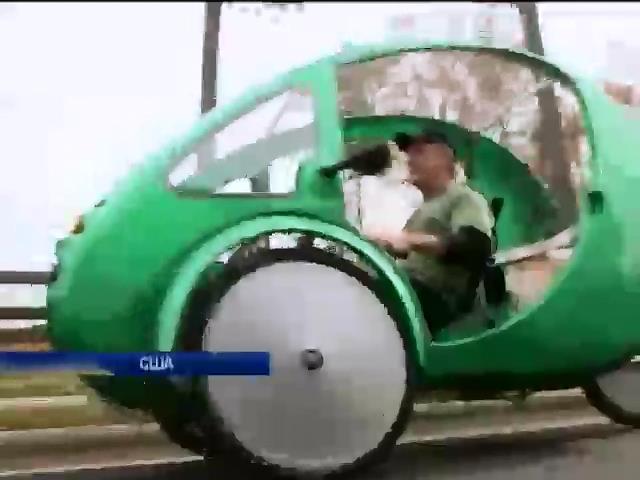 """У США успiшно виробляють транспорт майбутнього - електромобiль """"Ельф"""" (вiдео) (видео)"""