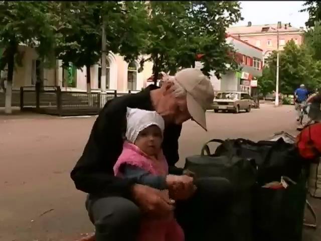 Благодiйники заявили про пiвтисячi дiтей, яких треба евакуювати з Донбасу (видео)