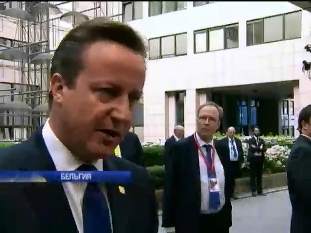Премьер Великобритании угрожает Европе выходом страны из ЕС (видео) (видео)